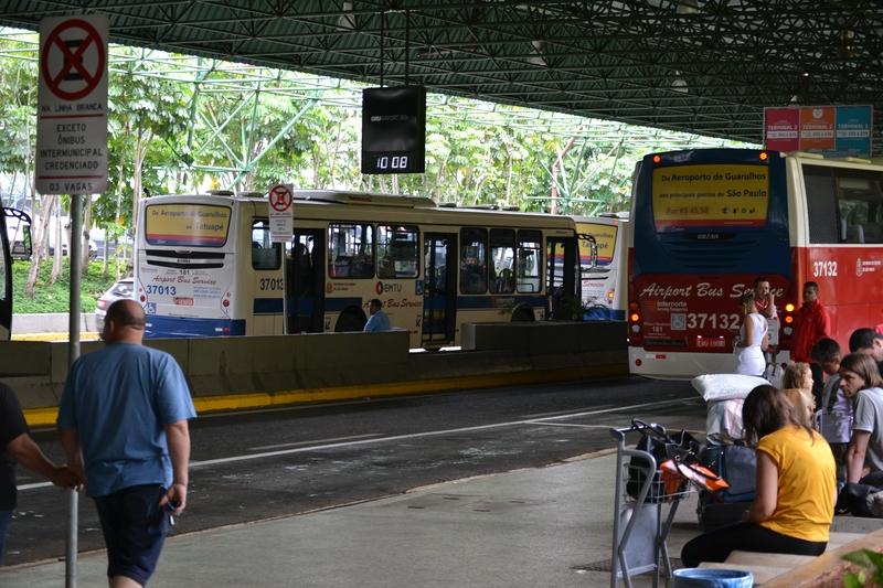 автобус из аэропорта Сан Пауло в город