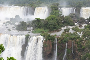 The Iguacu Waterfalls