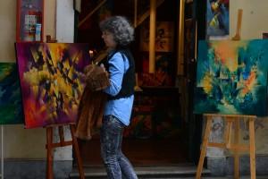 нарисованные картины в Буэнос Айрес