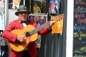 Аргентинский гитарист и певец