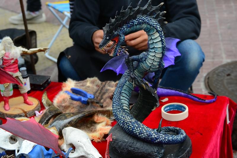 сувенир черный дракон