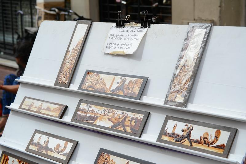 картины с изображением популярного в Буэнос Айресе танца танго