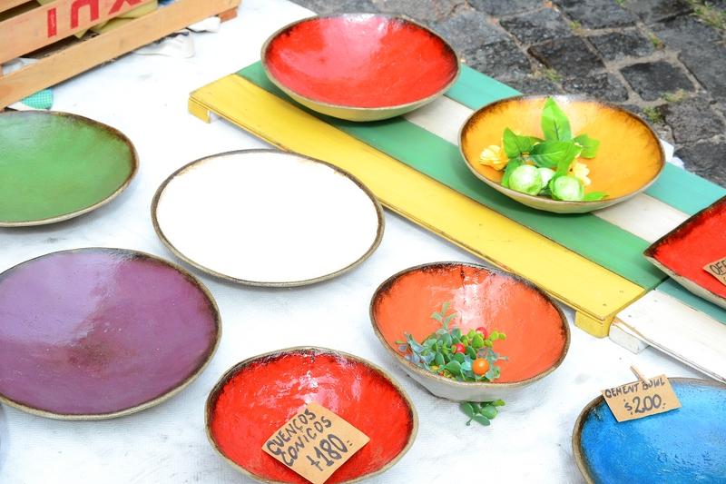 украшенные тарелки