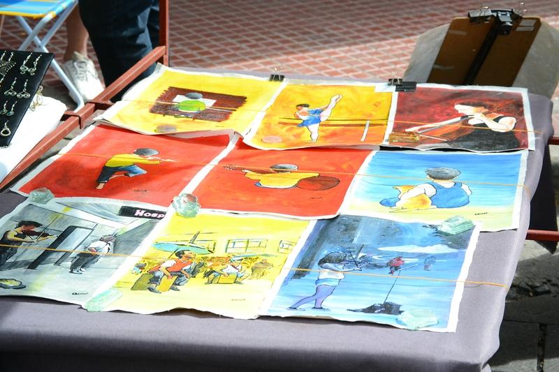 рисунки молодых художников