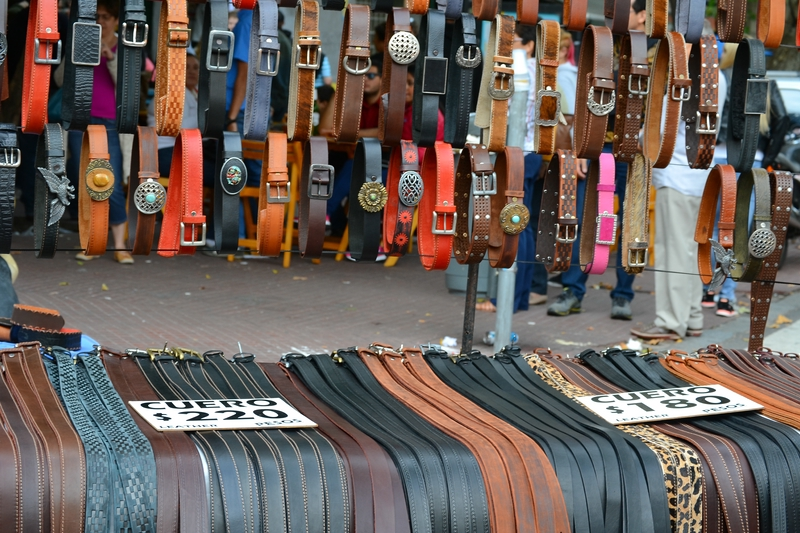 belts made of leather
