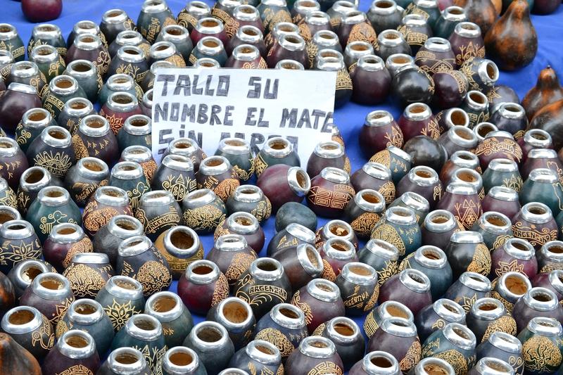 большой выбор калабасов в Буэнос Айресе