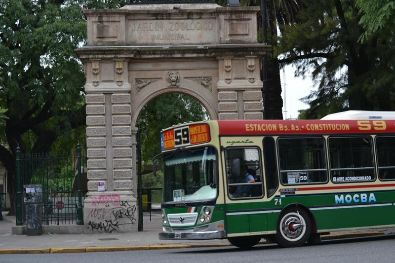 Вход в зоопарк Буэнос Айреса