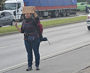 Hitchhiking in Argentina