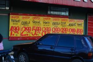 Цены на продукты в Фоз Игуасу