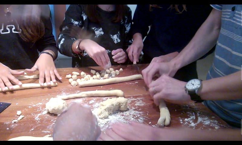 cooking gnocchi