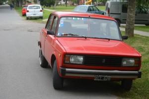 русский автомобиль в Аргентине