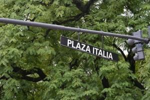 улица Plaza Italia