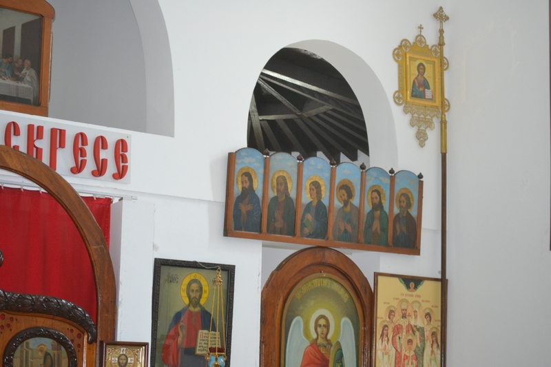 Icons in the Temple of Regal Martyrs