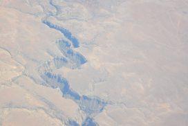Гранд Каньон, вид с самолета