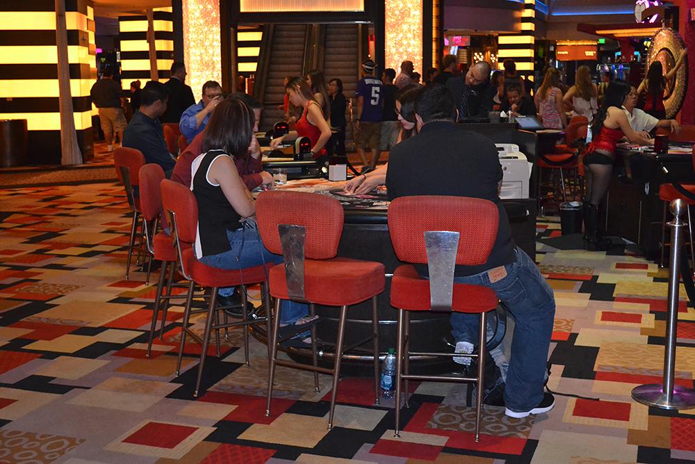 Casino in the hotel