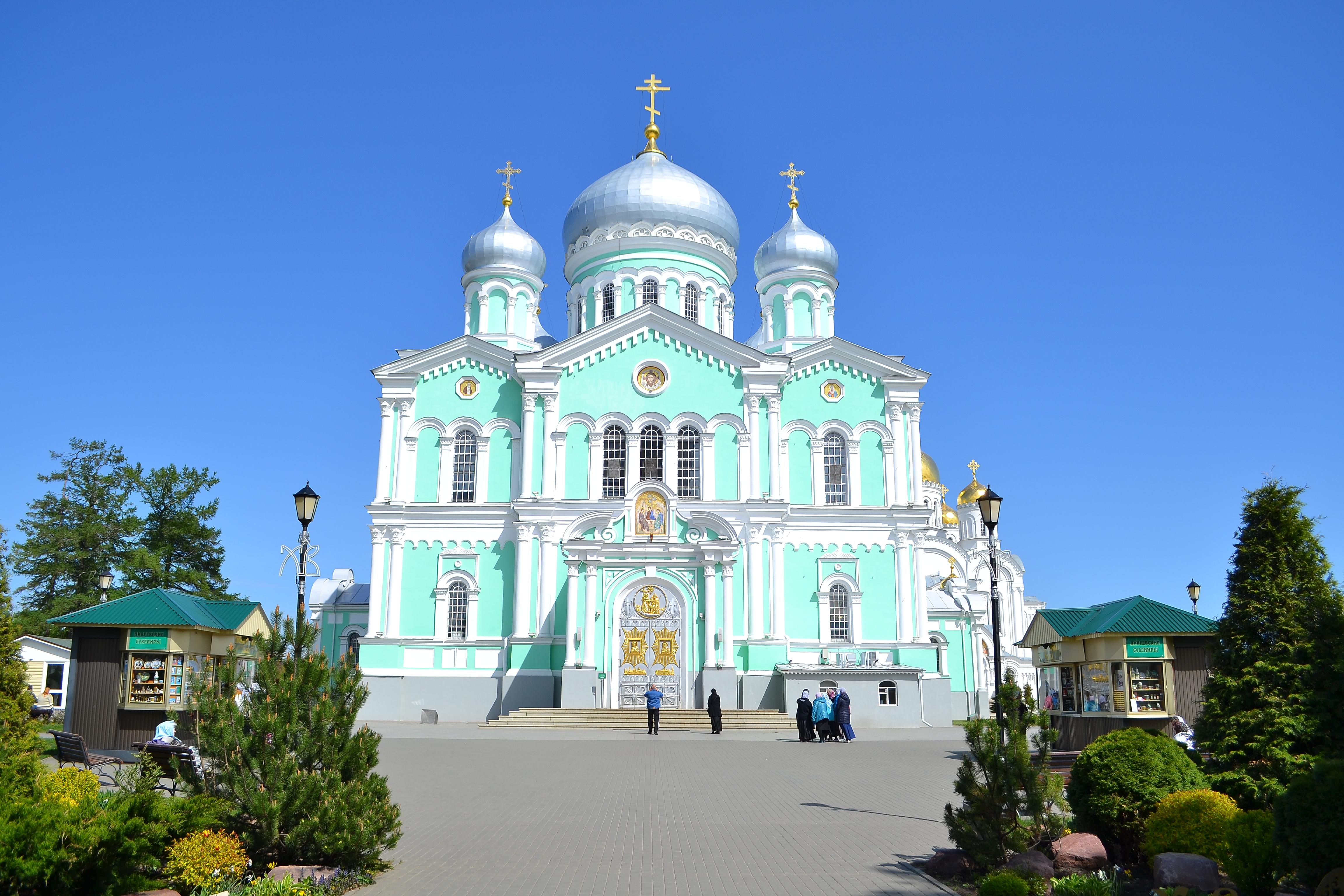 Дивеевский монастырь. Россия
