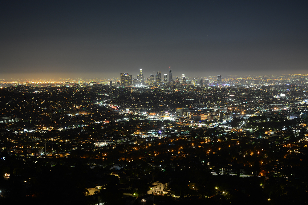 Night Los Angeles from Griffith Observatory