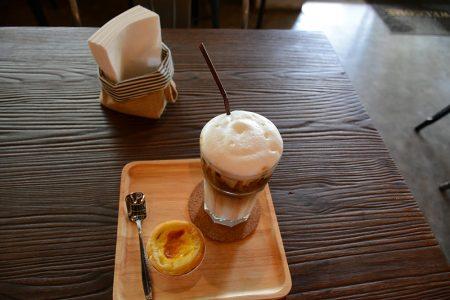 ice coffee в Cazz Hostel