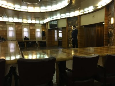 Внутри атомного ледокола-музея Ленин в Мурманске