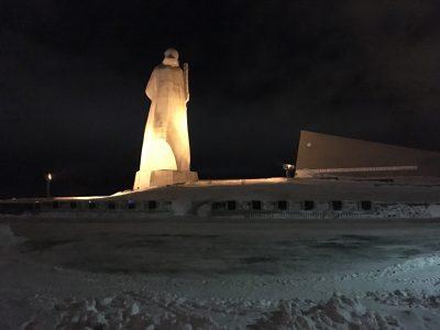 Памятник Алеше в г. Мурманск