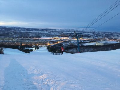 Горнолыжный спуск Nord Star в Мурманске