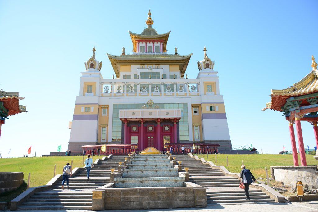 Старый Хурул. Буддийский храм в Элисте